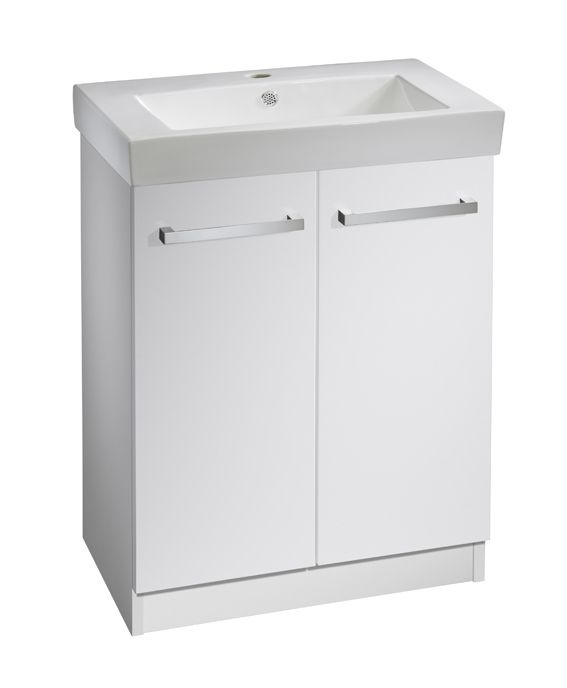 600mm Freestanding Wash Unit Excluding Basin R2 Ninety