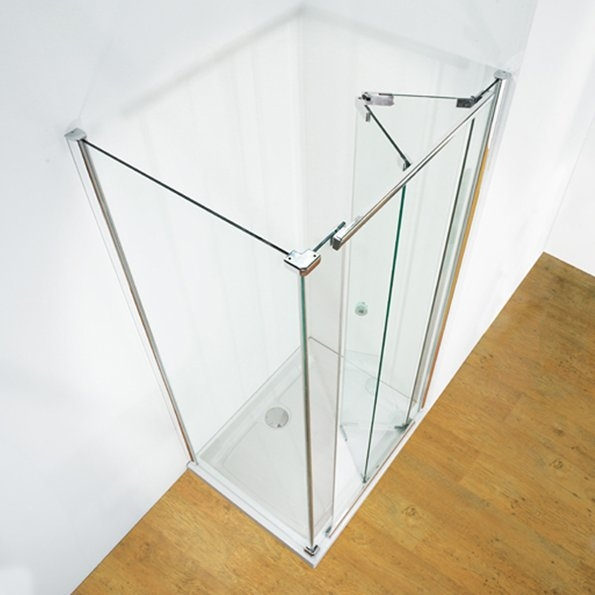Centre Folding Doors Kudsos Infinite B P M Bathrooms Ltd