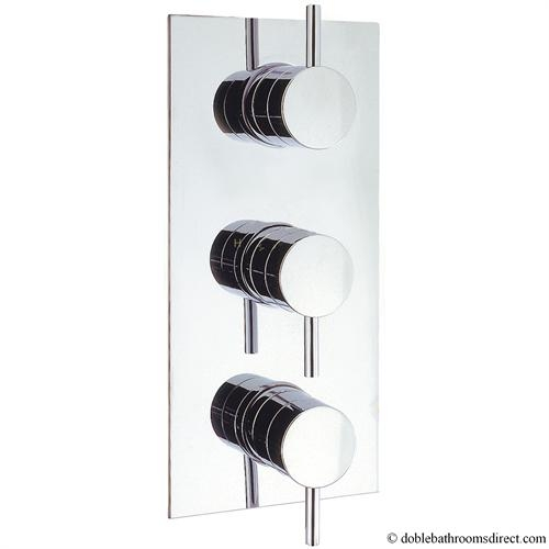 Kai Lever Thermostatic Shower Valve 3 Control Crosswater Thermostatic Valves Reccessed Kai