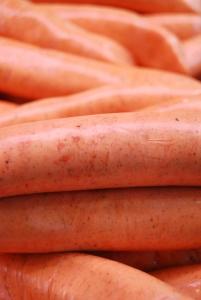 Gluten free thick pork sausage