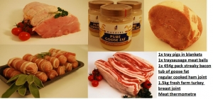 Christmas farm fresh boneless Yorkshire turkey breast pack 6+people