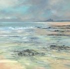 Bamburgh at Dawn - Card