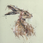 Brown Hare Turning
