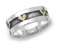 Chunky Hearts Ring