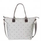 Hearts Oilcloth Oundle Bag