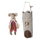 Maileg King Mouse & Tower