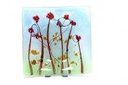 Poppies Vessel - red