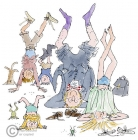 Quentin Blake - L is for Legs
