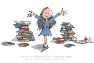 Quentin Blake - Matilda - World Exclusive signed Quentin Blake Print