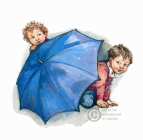 Shirley Hughes - U is for Umbrella