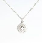 Silver Urchin Necklace
