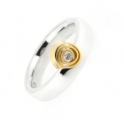 Spiral Off Centre Ring