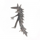Wild Thing Wolf Pin