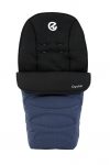 BabyStyle Oyster Footmuff in Oxford Blue