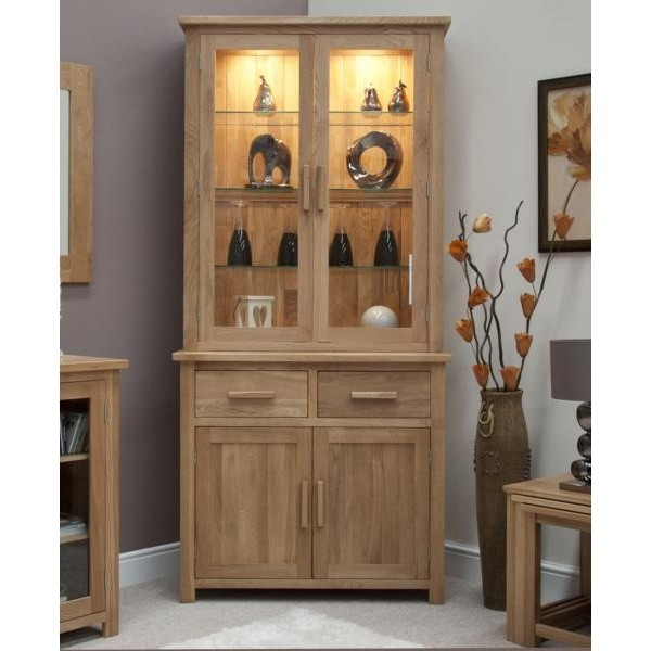 Oxford small sideboard top glass display cabinets dragon furniture