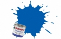 14 HUMBROL ENAMELL FRENCH BLUE GLOSS 14ML TINLET