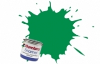 2 HUMBROL ENAMELL EMERALD GLOSS 14ML TINLET
