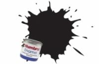 21 HUMBROL ENAMELL BLACK GLOSS 14ML TINLET
