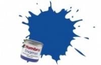 25 HUMBROL ENAMELL BLUE MATT 14ML TINLET