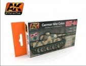 AK 1937-1944 GERMAN COLOR SET #AK560