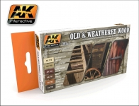 AK OLD & WEATHERED WOOD VOL.1 #AL562