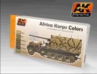 AK AFRIKA KORPS COLOURS # AK550