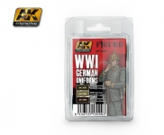 AK GERMAN WWI UNIFORM PAINT SET #AK3090