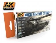 AK INTERACTIVE MIDDLE EAST WAR COLOURS #AK 564