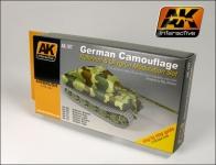 AK    GERMAN GREEN & BROWN  MODULATION SET #AK167
