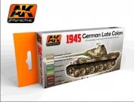 AK 1945 German Late War Colors Set #AK554