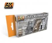 AK OLD & WEATHERED WOOD SET 2 #AK563
