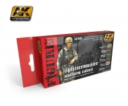 AK SPLITTERMUSTER UNIFORM PAINT SET 'AK3040