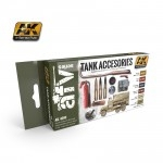AK TANK ACCESORIES PAINT SET #AK4000