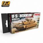 AK U.S. MODERN COLOURS (MENG COLOUR) #MC801