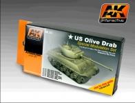 AK U.S.OLIVE DRAB MODULATION SET #AK131