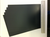 BLACK PLASTIC CARD ASSORTMENT.