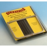 FLEX-I-FILE MICROFINISHING CLOTH TAPES AND FRAME SET #15129