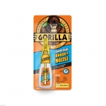 GORRILA SUPER GLUE W/ BRUSH & NOZZLE (12g) #1578