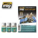 MIG-AMMO DESERT WEATHERING SET #A-MIG7424