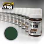 MIG AMMO GREEN FOR GREY GREEN FILTER #MIG1508