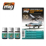 MIG-AMMO METALIC JETS WEAHERING SET #A-MIG7423