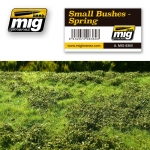 MIG-AMMO SMALL BUSHES – SPRING #MIG-8360