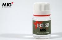MIG DECAL SET #P251