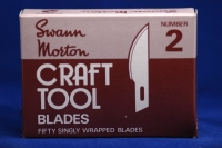 SWANN-MORTON CRAFT BLADE No2 X5  #1242