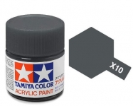 TAMIYA ACRLIC X-10 GUN METAL