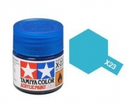 TAMIYA ACRLIC X-23 CLEAR BLUE