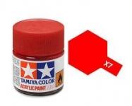 TAMIYA ACRLIC X-7 RED