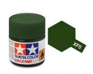 TAMIYA ACRYLIC XF-5 FLAT GREEN (1Oml)