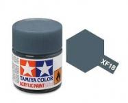 TAMIYA ACRYLIC XF-18 MEDIUM BLUE (1Oml)