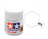 TAMIYA ACRYLIC XF-2 FLAT WHITE (1Oml)